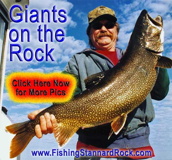"Trophy ""Red Fin"" Lake Trout on Light Tackle"
