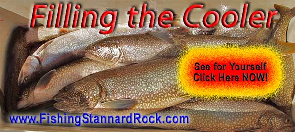 Stannard Rock Lake Trout – Filling the Cooler